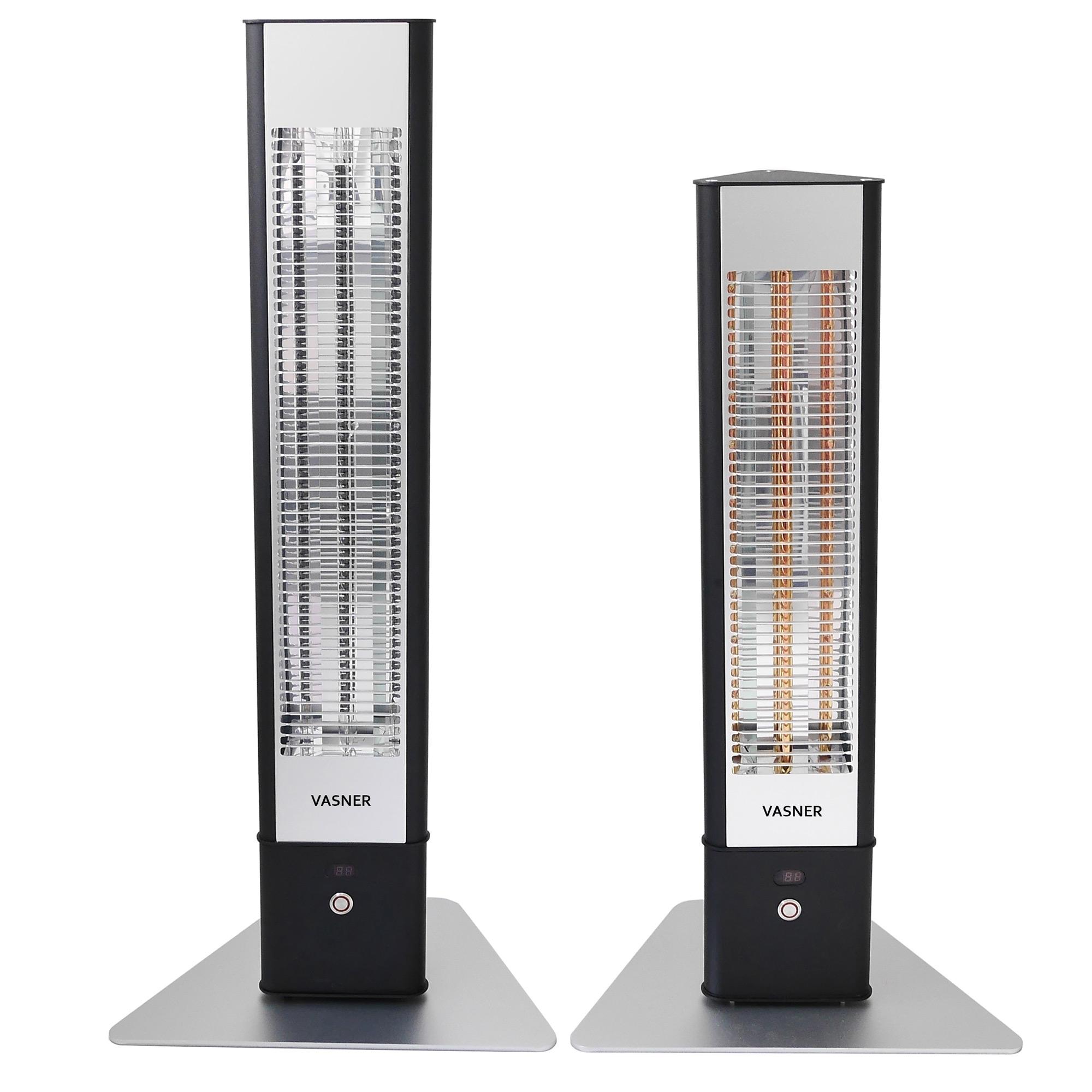 Mobiler Heizstrahler und Mini Heizer HeatTower