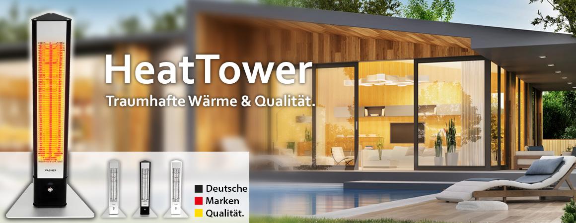 Stand-Heizstrahler HeatTower