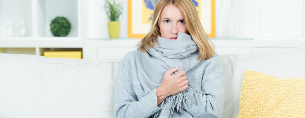 Infrarotheizung gegen Frostschäden