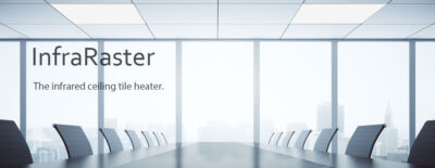 Ceiling tile heater VASNER InfraRaster