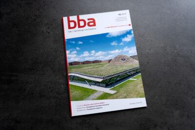VASNER Infrarotheizung für Rasterdecken in bba Fachheft zu Bau & Architektur