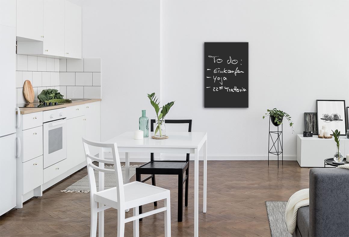 Elektroheizung Tafel in der Küche