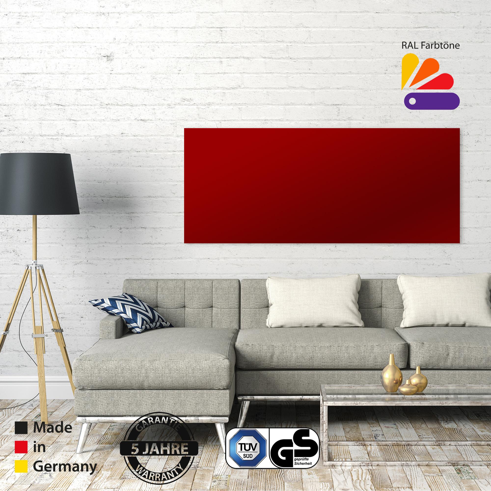 VASNER Infrarotheizung Hersteller für Zipris GR Colour