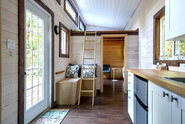 Platzsparende Heizkörper für Kleinhäuser