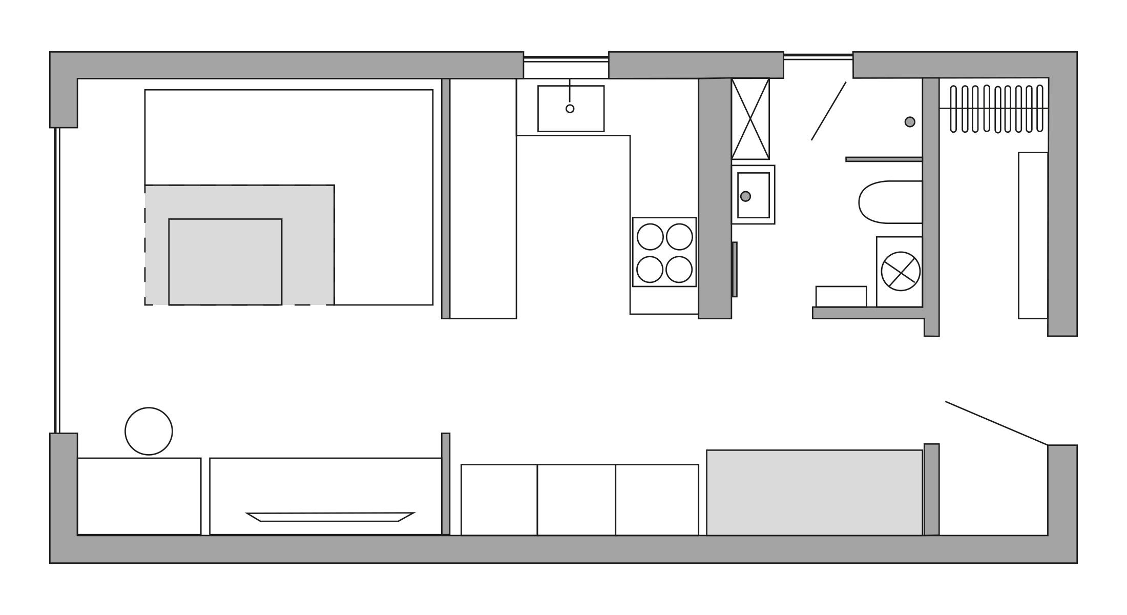 Tiny House Heizung Leistungsberechnung Grundriss
