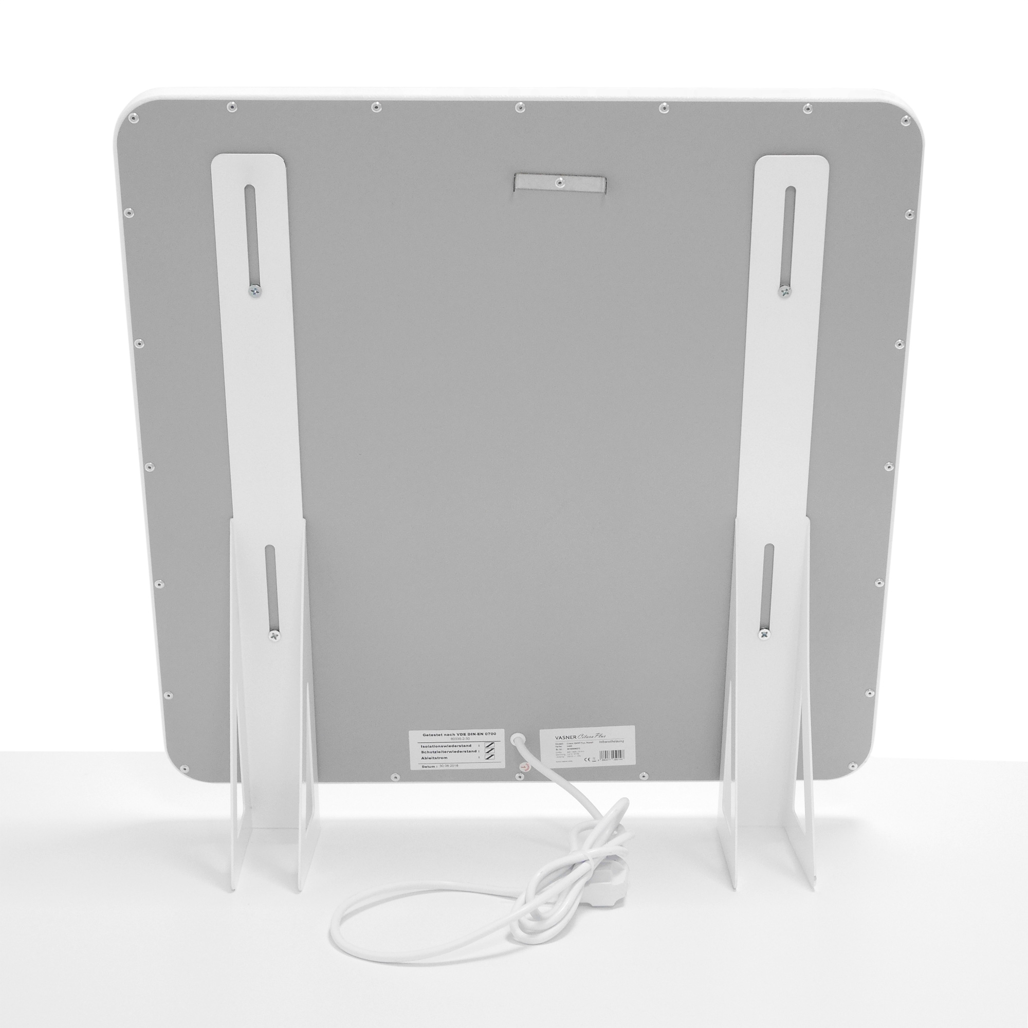 Flexible Tiny House Heizung mit Netzstecker & Standfüßen
