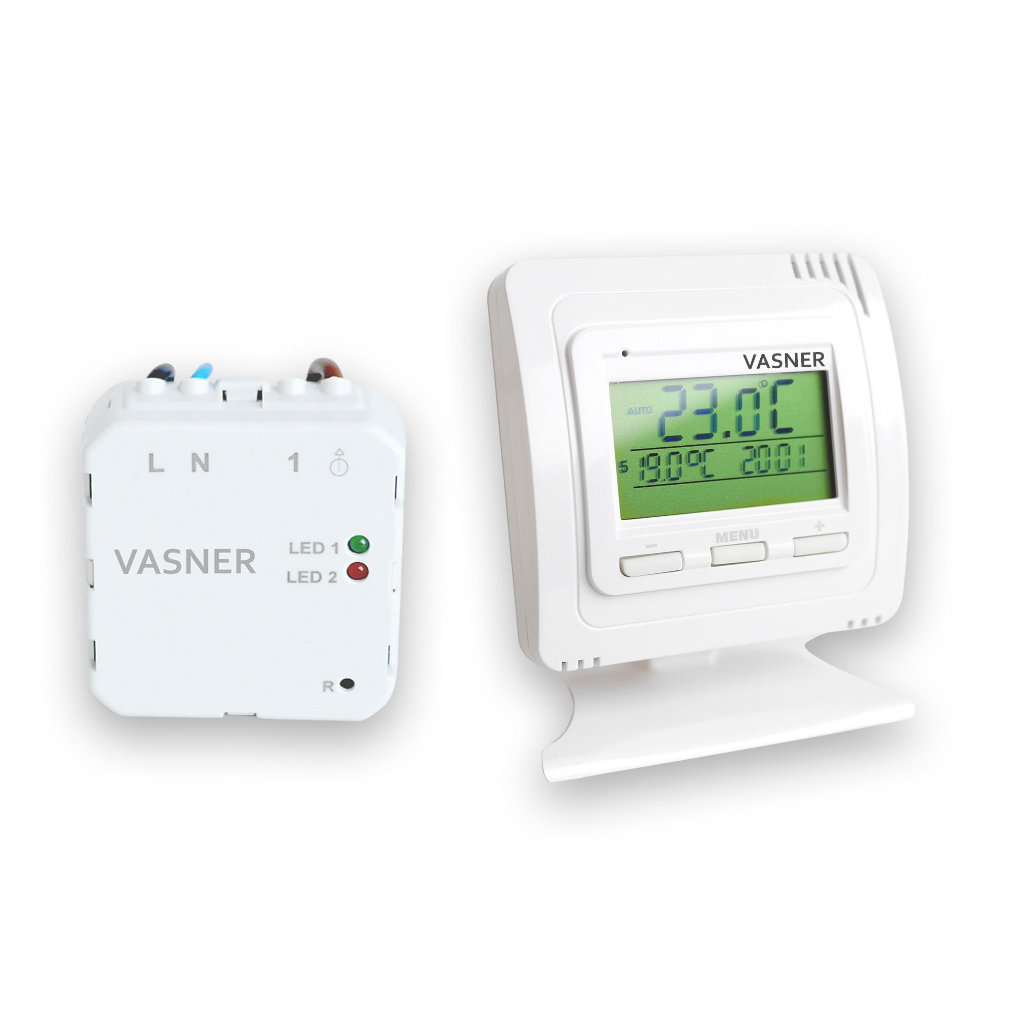Programmierbares Thermostat für Minihaus Heizung