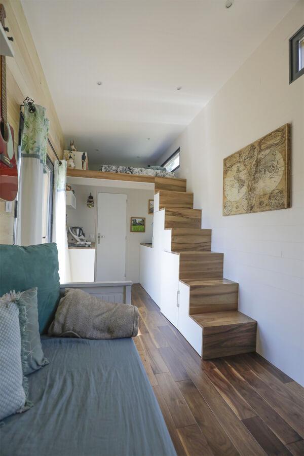Infrarot Tiny House Heizung - Platzsparend und praktisch