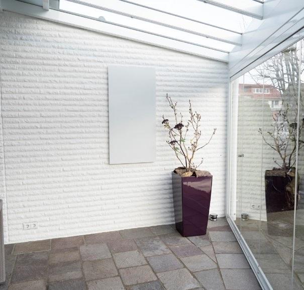 Infrarotheizung Einfamilienhaus Test Wintergarten