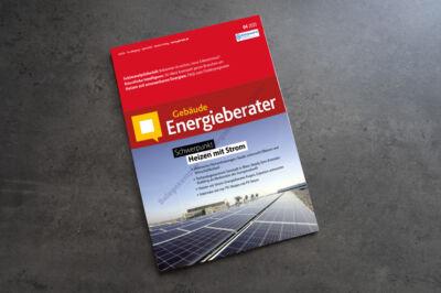 """Ausgabe 04/2020 Fachmagazin """"Gebäude Energieberater"""""""