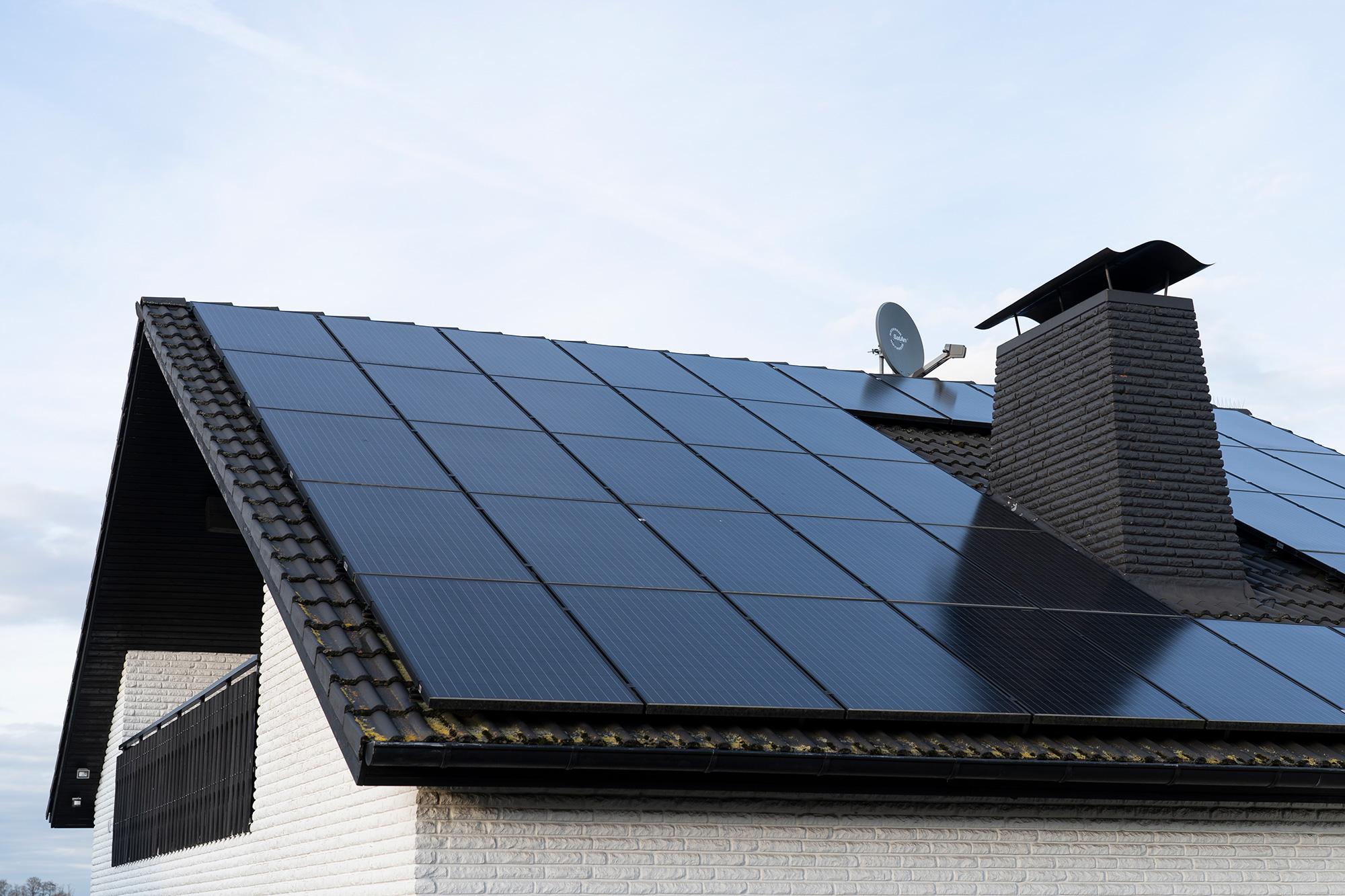 Gütersloher Einfamilienhaus mit eigener Photovoltaik Anlage