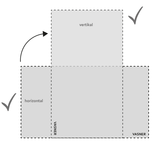 Infrarotheizung Whiteboard vertikal oder im Querformat installieren