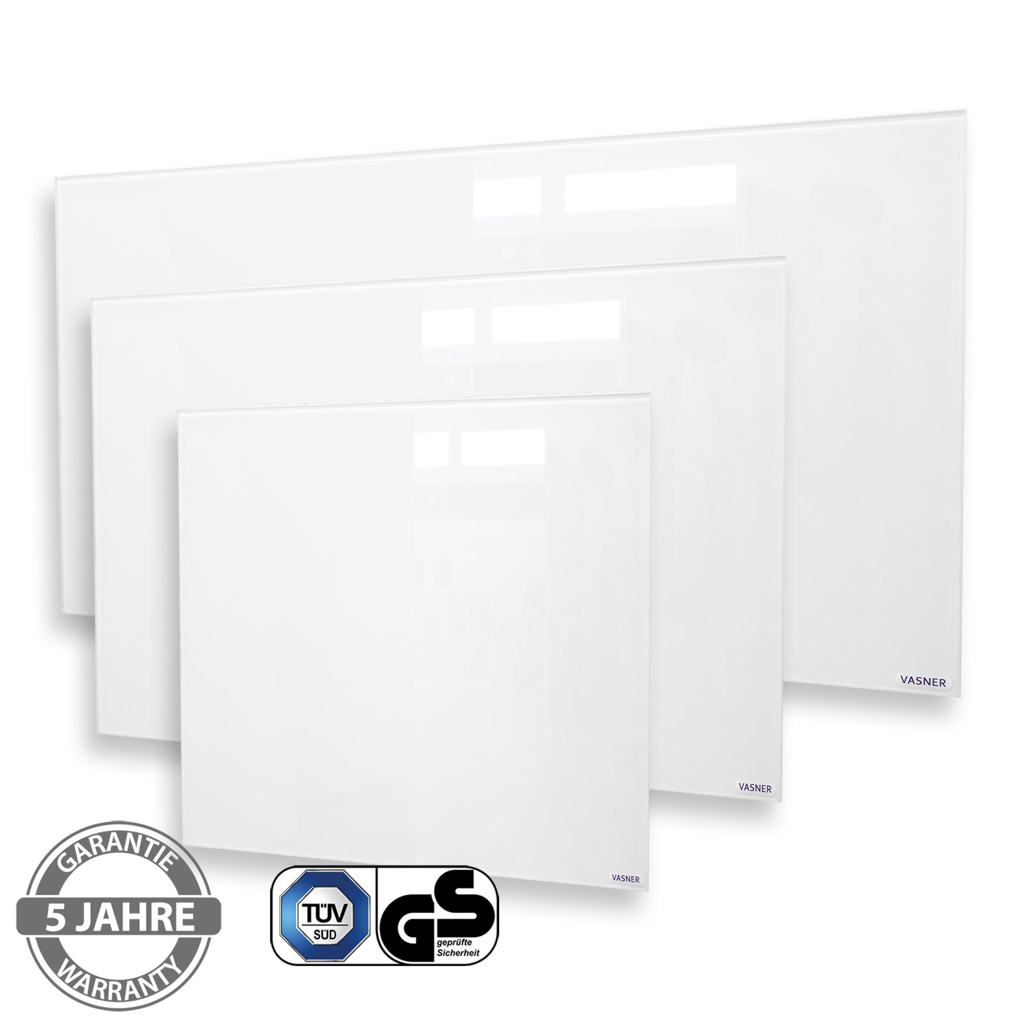 Infrarotheizung Whiteboard weiß 450 - 900 Watt beschriftbar