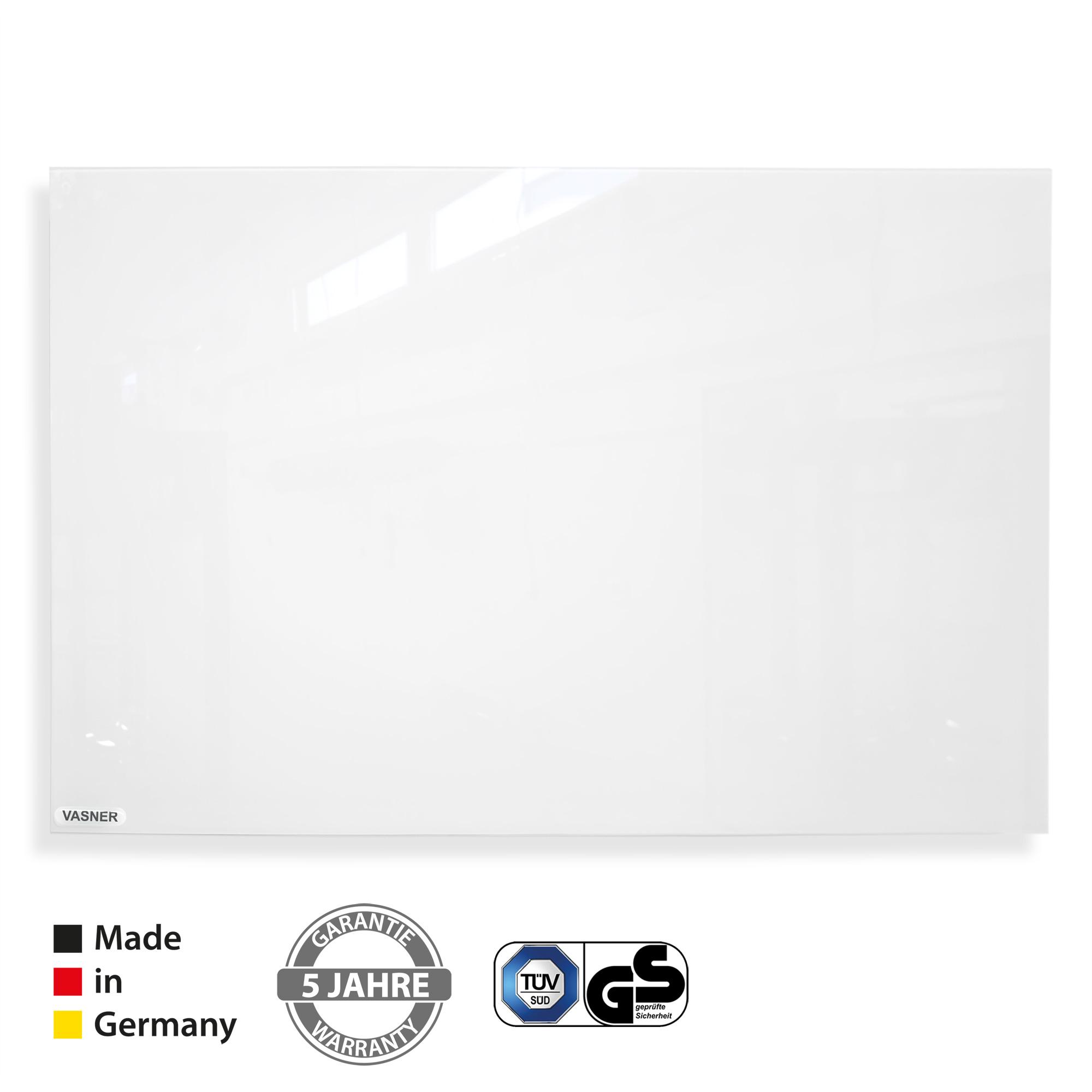Infrarotheizung Whiteboard Glas Made in Germany mit TÜV und 5 Jahre Garantie