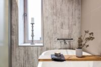 Spiegel-Infrarotheizung mit IP-X4 Spritzwasserschutz ideal als Passivhaus Heizung im Bad