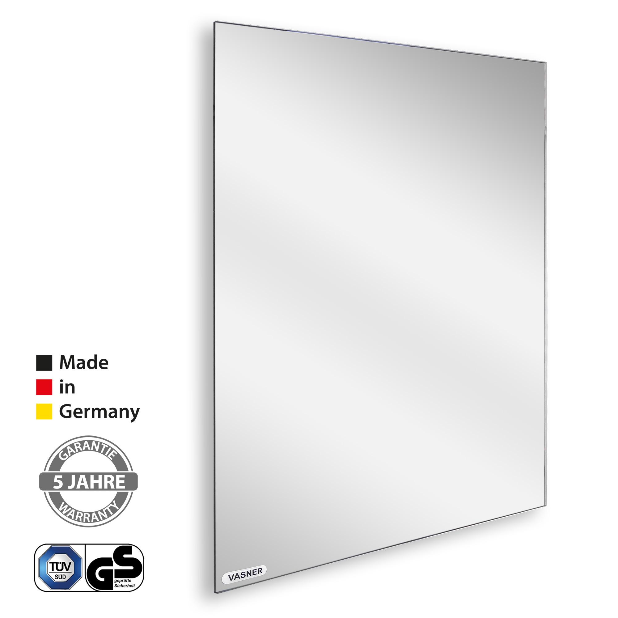 Dank Spiegel Elektroheizkörper mit 500 Watt sparsam und elegant heizen (Kosten Berechnung)