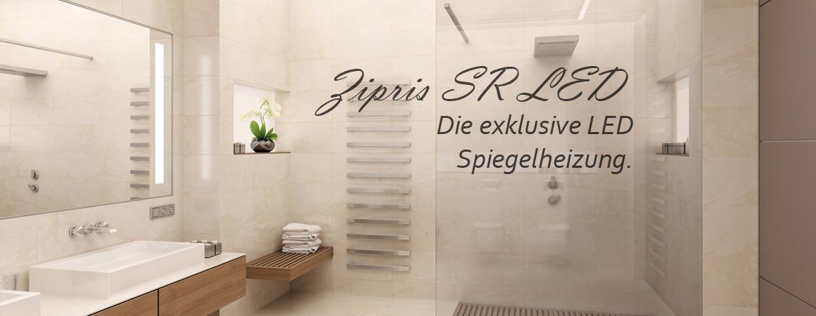 Elektroheizkörper für Bad getarnt als Spiegel