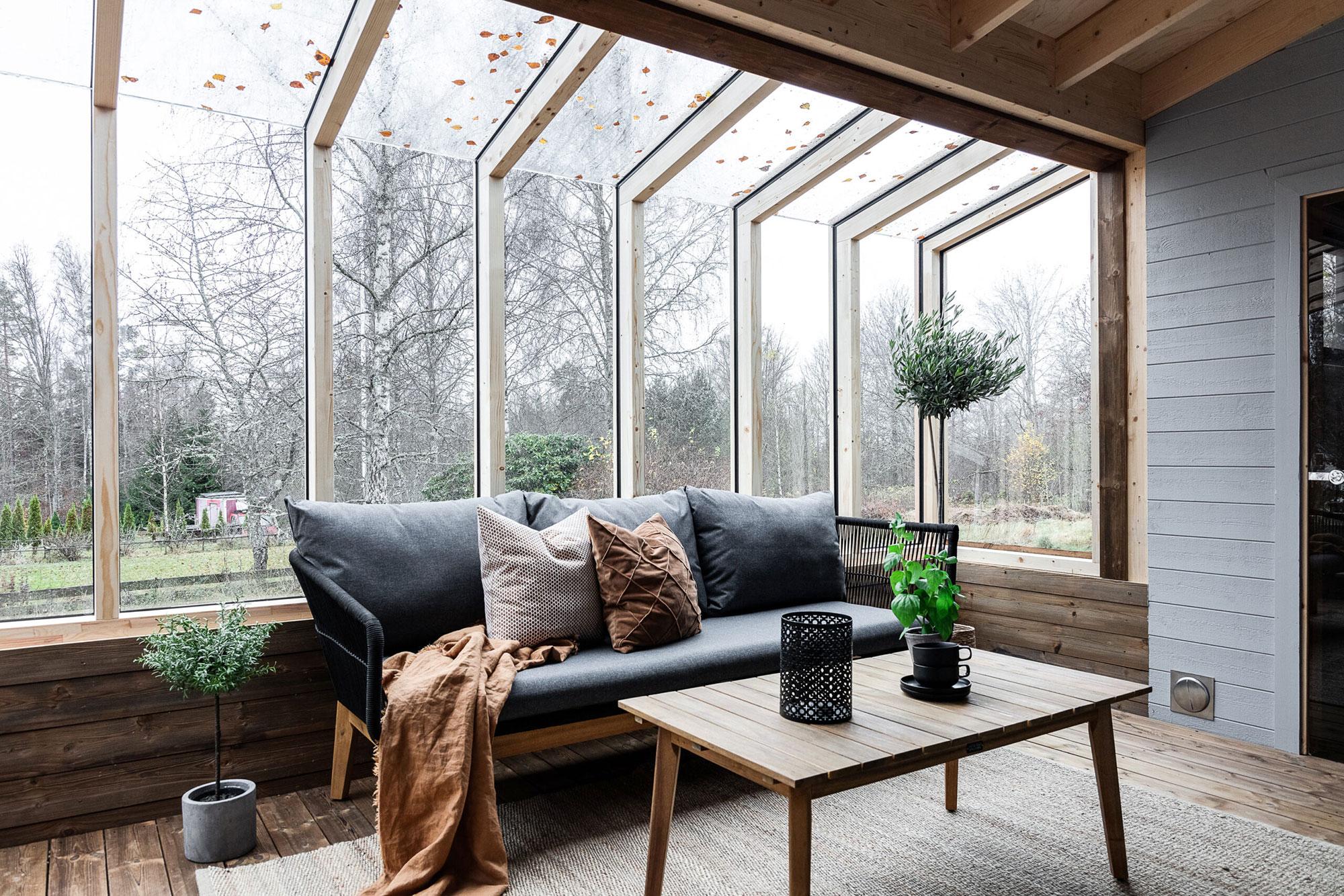 Gemütliche Wärme dank Passivhaus Heizung und Wärmepumpe zur Warmwasserbereitung