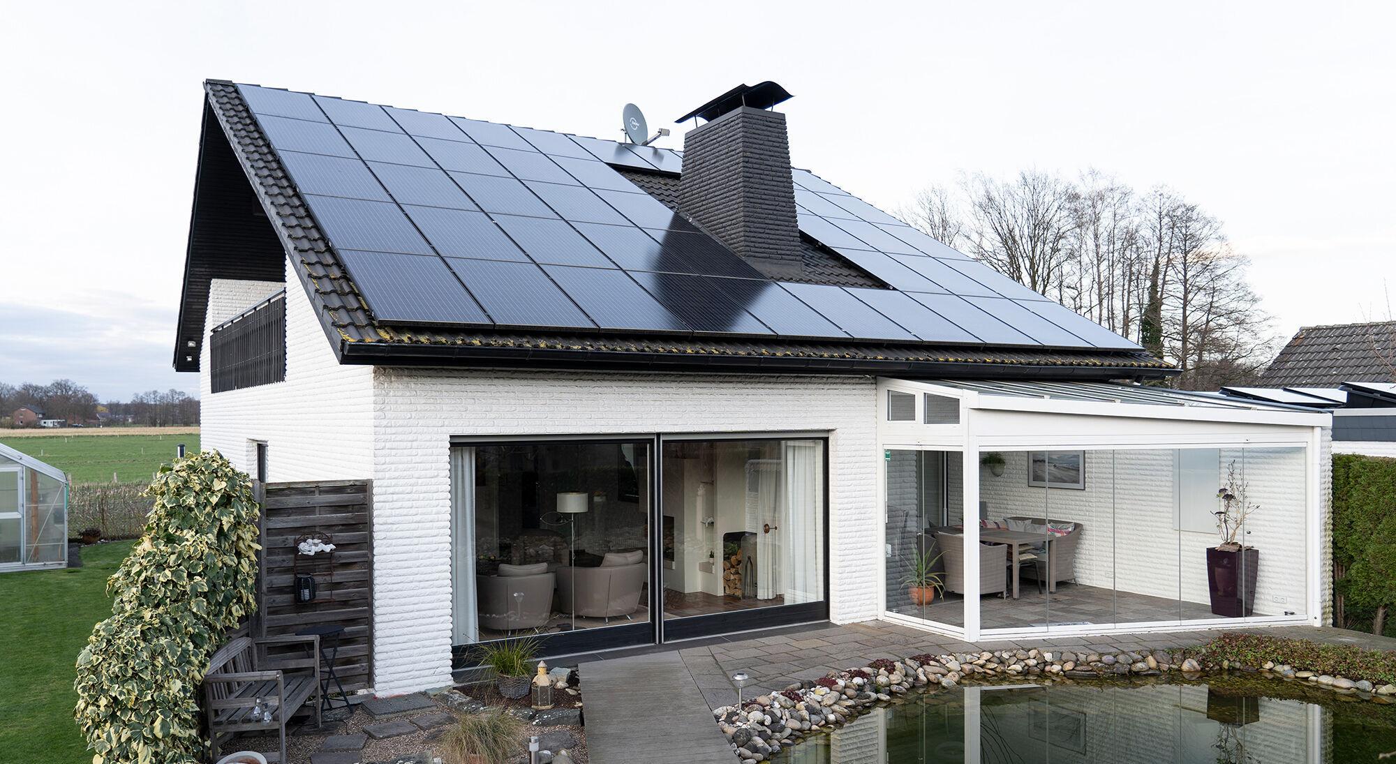Wärmewellenheizung Verbrauch & Heizkosten im Einfamilienhaus mit Photovoltaikanlage