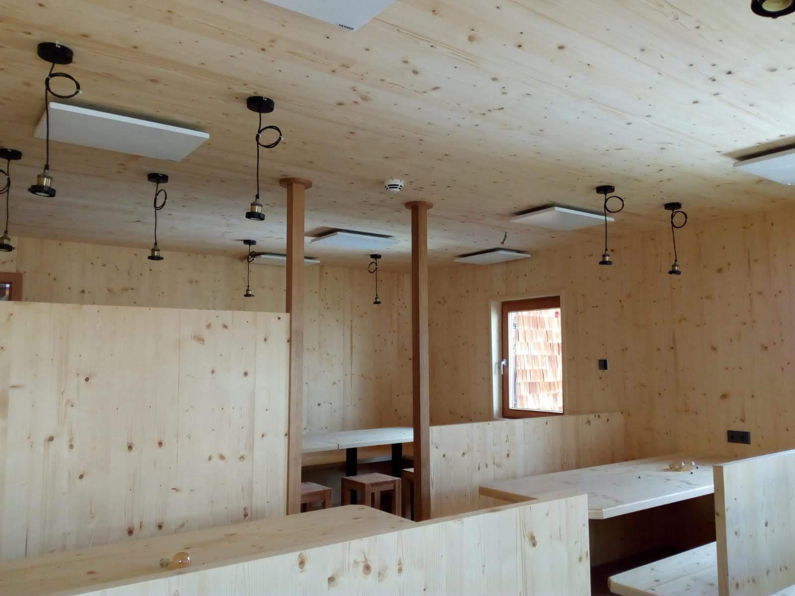 Infrarotheizung Sanierung Wanderhütte Berghütte Kosten senken