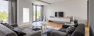 Infrarot Heizpaneel Wohnzimmer