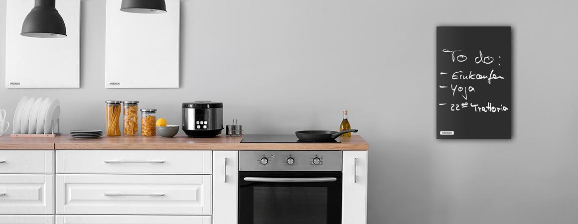 Tafel Infrarotheizung Küche getarnt