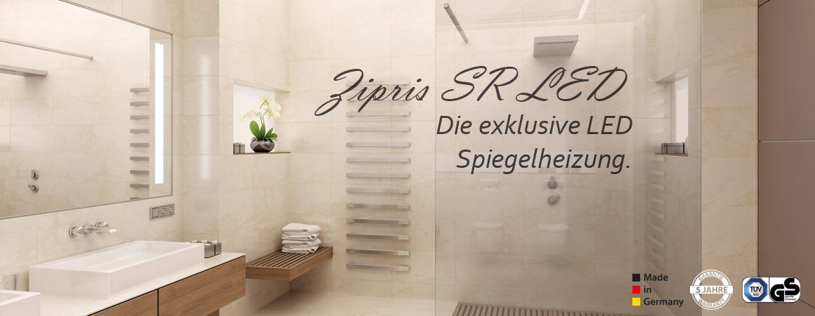 Infrarot Paneel Spiegel für Bad & Sauna