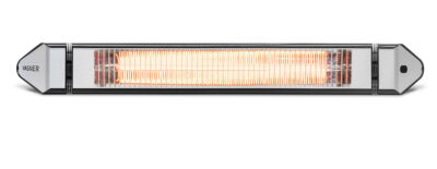 Terrassenheizung Infrarot 2500 Watt Schwarz