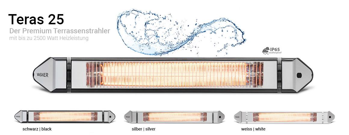 Mit Infrarot Heizstrahler gegen Schimmel vorgehen für intensive Wärme im Bad