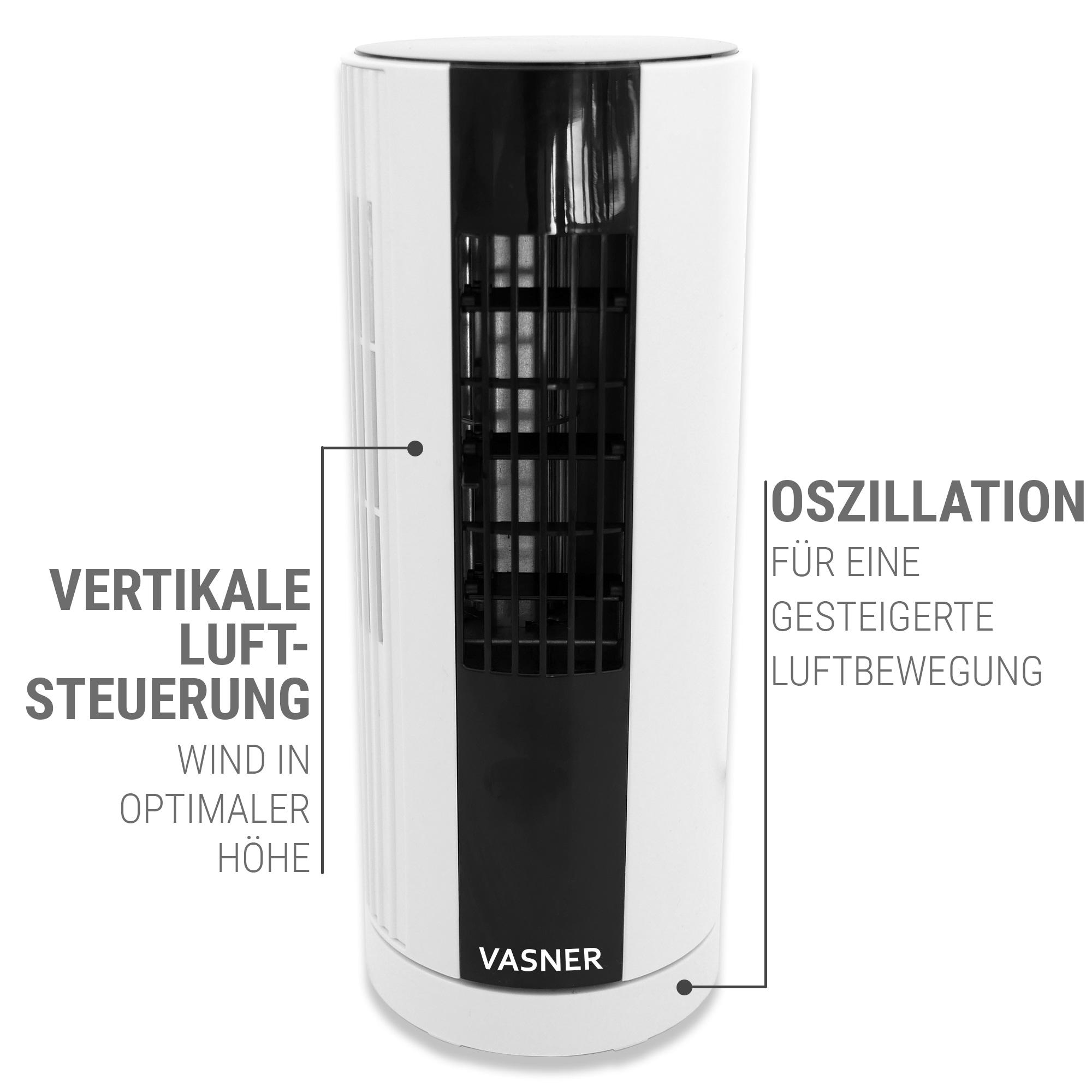 Säulenventilator Standventilator Mini Ventilator oszillierend