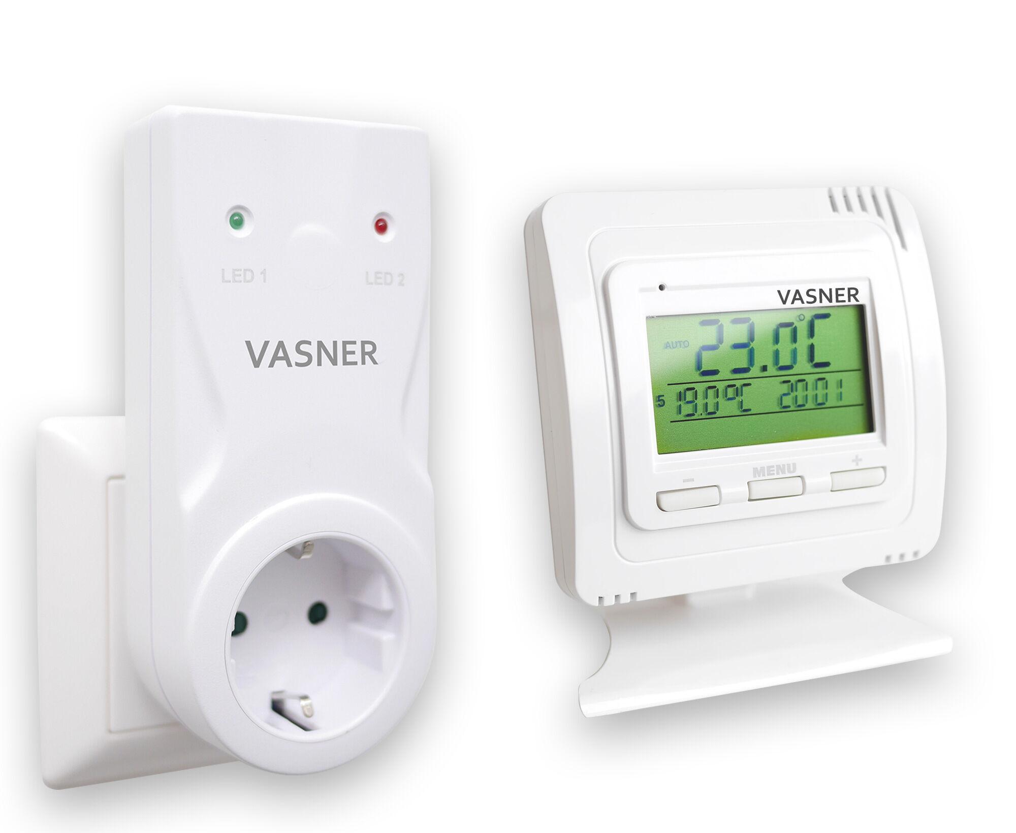 Heizen mit erneuerbaren Energien und programmierbarem Thermostat