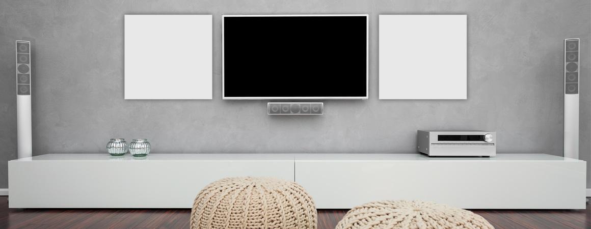 Flachheizkörper Wohnzimmer dezent für Strahlungswärme
