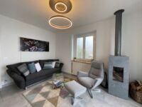 Für zusätzliche Wärme im Wohnzimmer eines sorgt die Infrarot Bildheizung Panora von VASNER