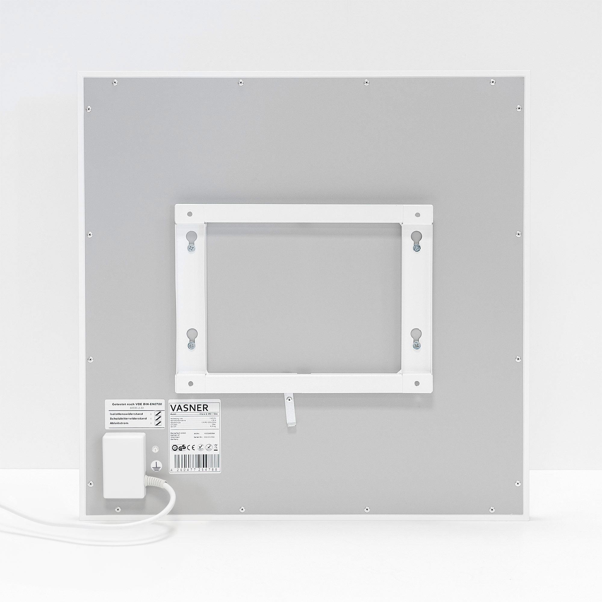 Montage Halterung der Infrarotheizung Glas für Wandmontage