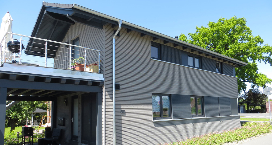 Für das Beheizen eines KfW 40 plus Hauses werden Infrarotheizungen von VASNER verwendet