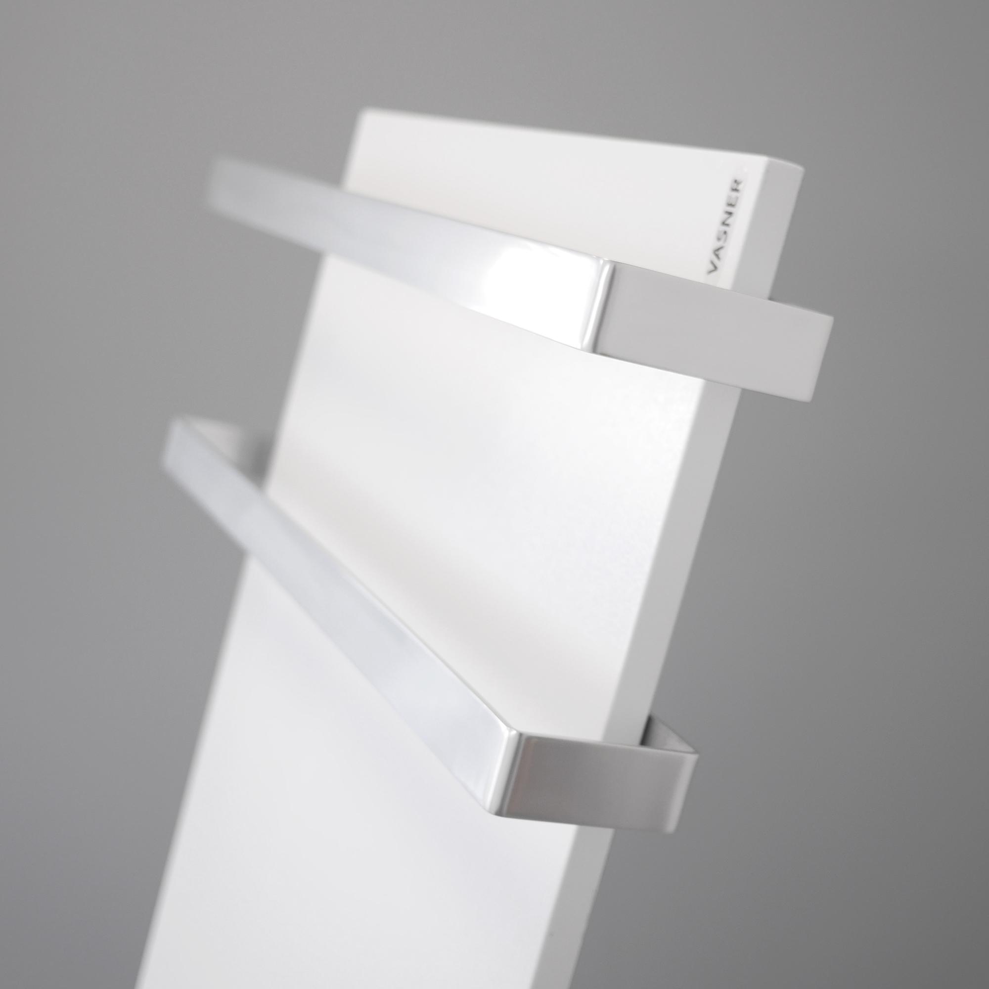 Glasheizkörper mit Handtuchhalter nachrüsten