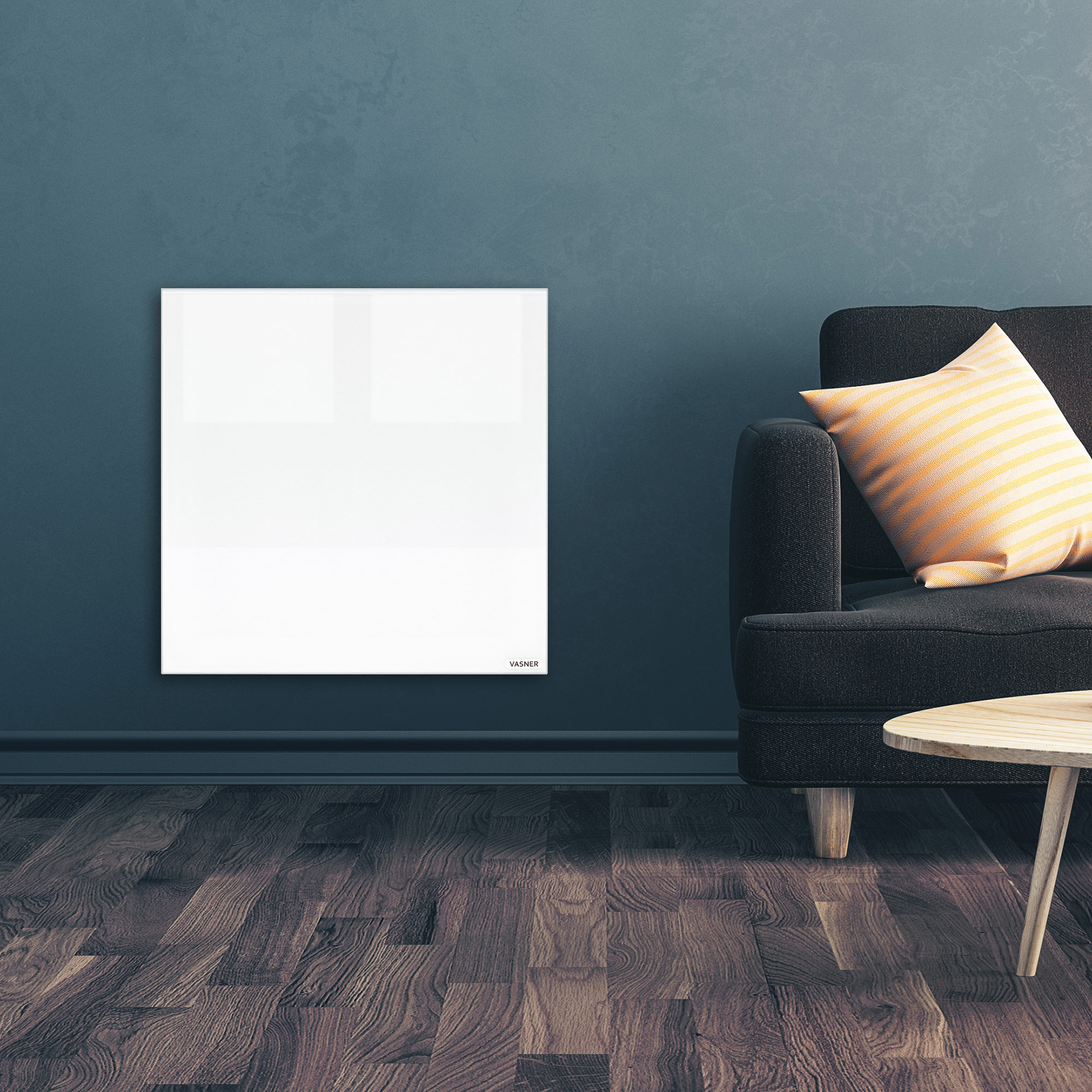 Design Infrarot Glasheizkörper mit Thermostat betreiben für gemütliche, effiziente Wärme