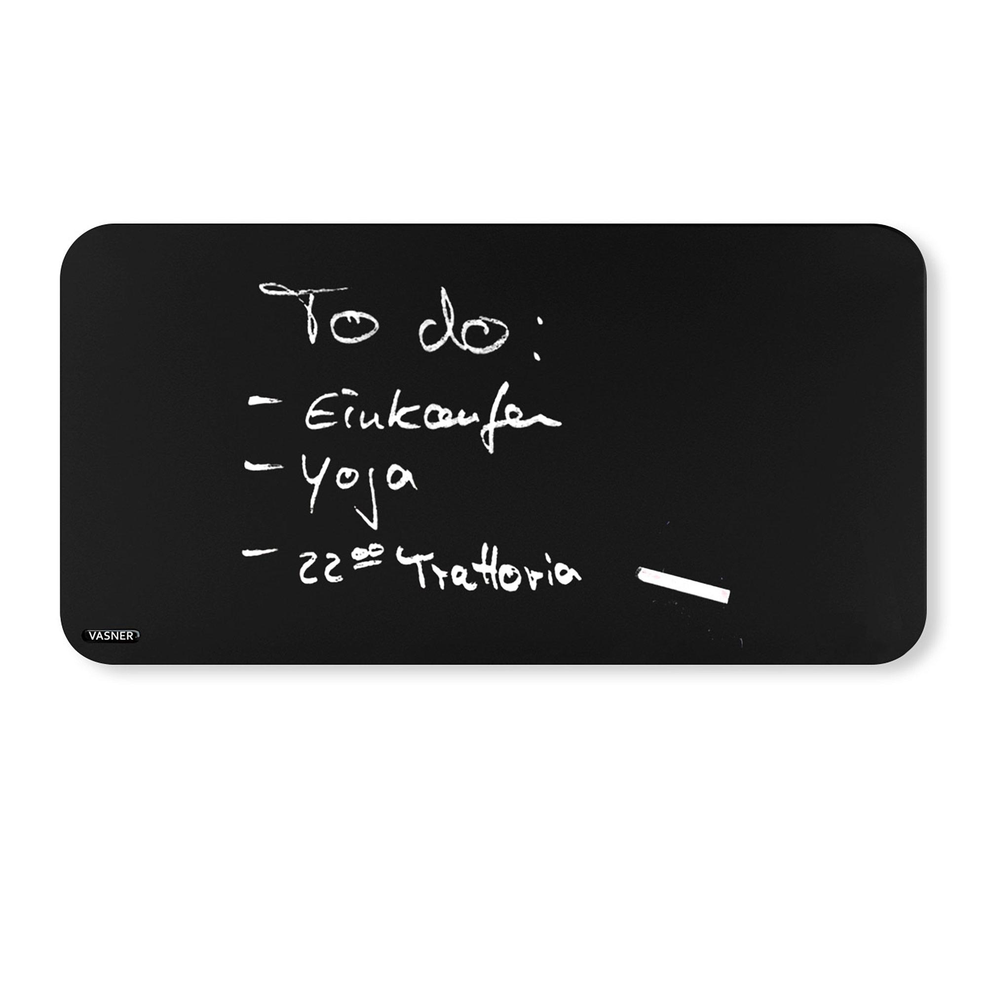 Tafel Infrarotheizung rund für Bad, Büro, Küche