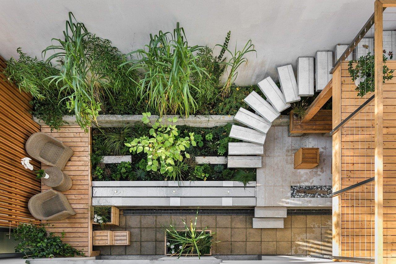 Dachterrasse bepflanzen Ideen Dachgarten