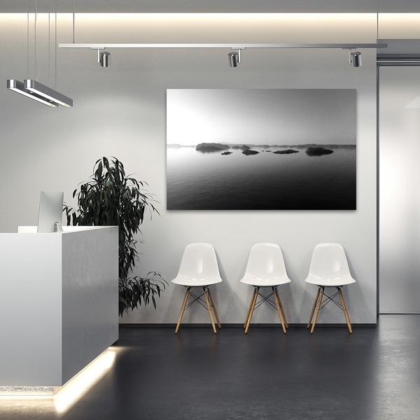 Bildheizung modern Bürogebäude